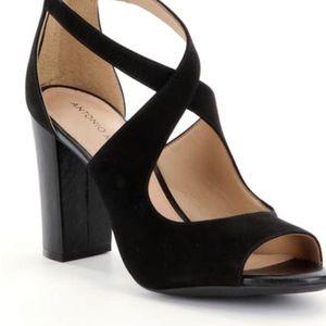 Antonio Melani Black Maddeye Heels